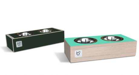 Binq Design Modern Dog Feeders