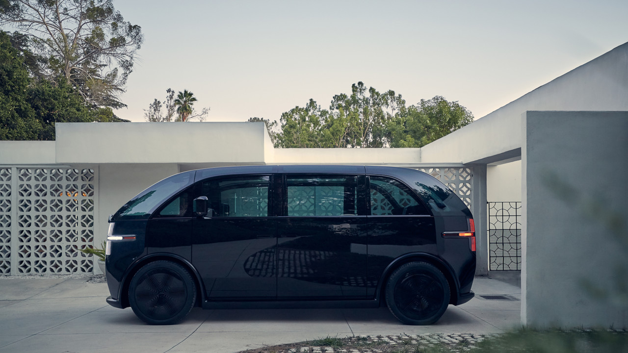 Canoo: A Bauhaus Inspired, Subscription-Based Electric Vehicle