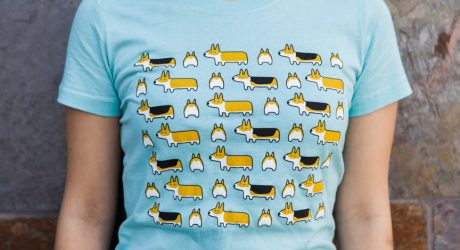 Corgi T-Shirts from Three Cheers for Corgis