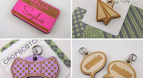 Cropscotch Handmade Personalized Dog Tags