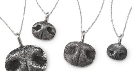 Custom Pet Nose Print Necklace