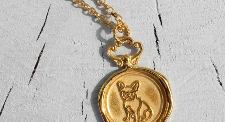 Custom Dog Portrait Jewelry by Jessica de Lotz for HOUNDWORTHY