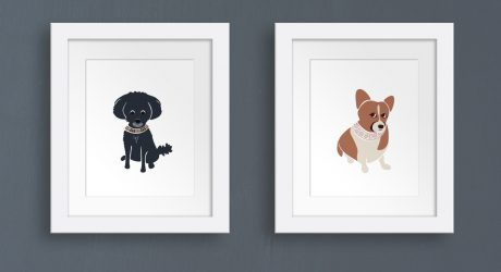 Custom Pet Portraits from Oxford Dogma
