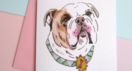 Dolled Up Dogs Greeting Card Collection from Studio Legohead