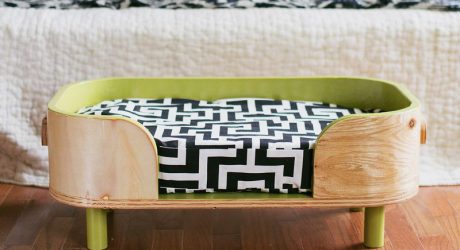 Dog-I-Y: How to Make a Modern DIY Pet Bed
