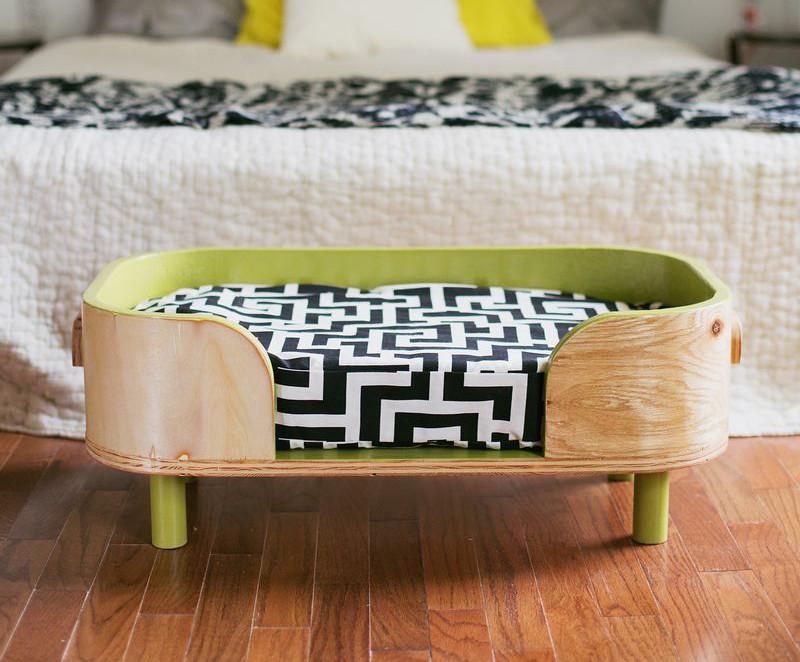 Stupendous Dog I Y How To Make A Modern Diy Pet Bed Design Milk Evergreenethics Interior Chair Design Evergreenethicsorg