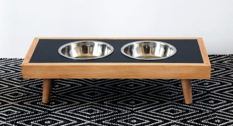 DOG-I-Y: Modern DIY Raised Pet Feeder