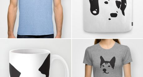 Dog Breed Vector Image Tees, Totes, Mugs, and More