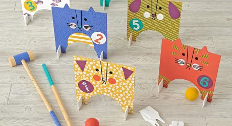 Pet Croquet Set from Land of Nod