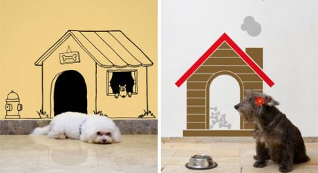 Dog House Wall Decals