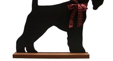 Dog-Shaped Chalkboards