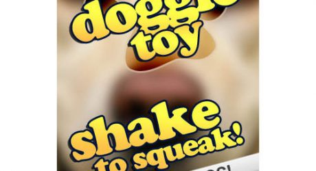 Free Dog Squeaky Toy App