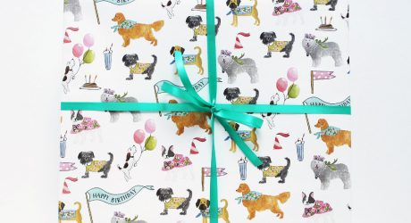 Gift Wrap and Greeting Cards from Lydia & Pugs