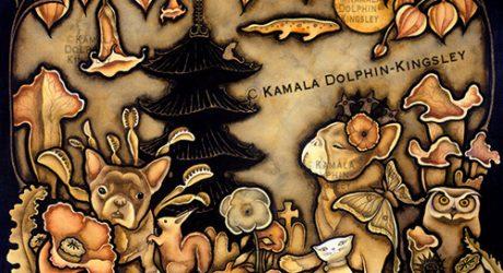 Dog Paintings by Kamala Dolphin-Kingsley