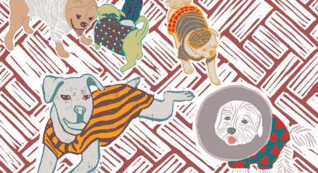 Dog Illustrations and Prints by Moran Pinchas