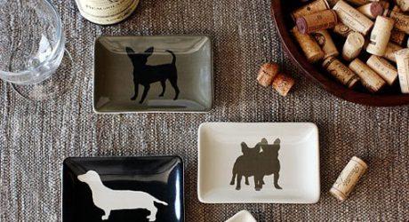 Doggie Dessert Plates