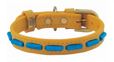 Dosha Dog Desert Turquoise Collar and Leash