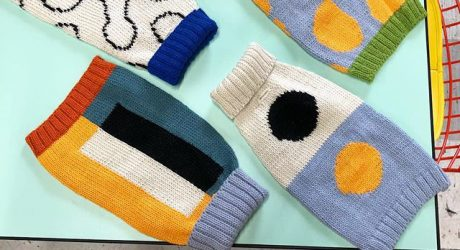 New Modern Dog Sweaters from Dusen Dusen