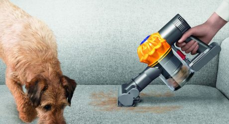 Giveaway: Win a Dyson V6 Top Dog Handheld Vacuum