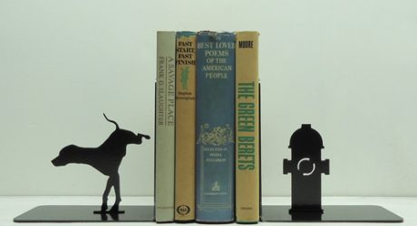 Metal Fire Hydrant Bookends