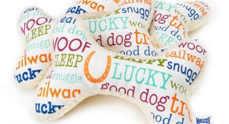 Happy Go Lucky Fleece Bone