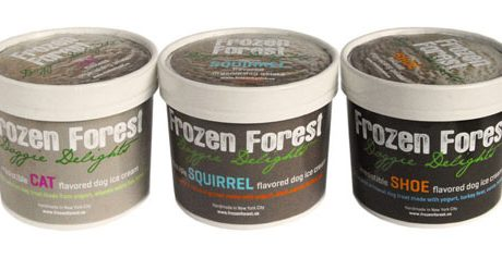 Frozen Forest Dog Ice Cream