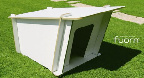 Fuora Flat Pack Modern DogHouse