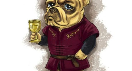 Game of Thrones-Inspired Dog Illustrations by Maura Condrick