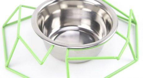 Chamfer Steel Wire Diner from GO! Pet Design