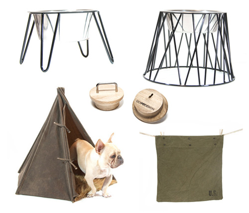 Modern Pet Feeders and Accessories from Go! Pet Design
