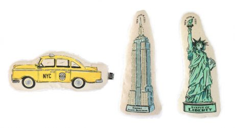 NYC Dog Toy Collection from Harry Barker