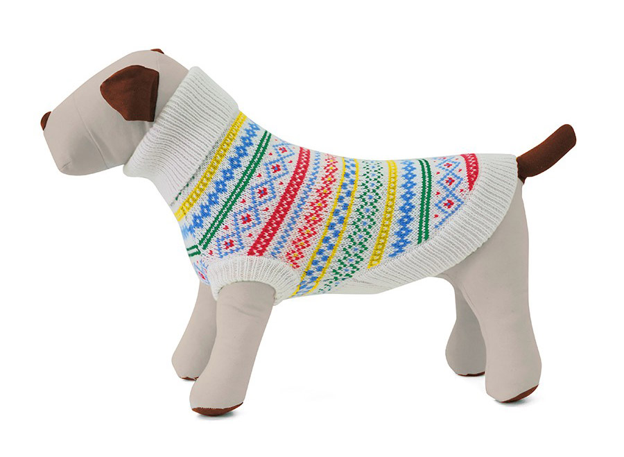 Fair Isle Dog Sweaters From Harry Barker