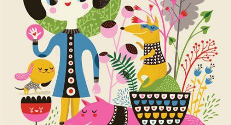 Helen Dardik Dog Illustrations