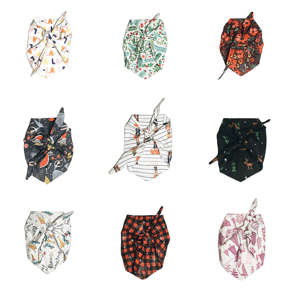 Holiday Bandana Collection from Howl + Hound