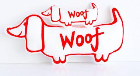 Jane Foster Screenprinted Dog Designs