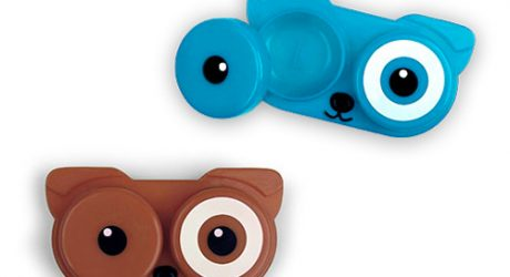 Kikkerland Dog Contact Lens Case