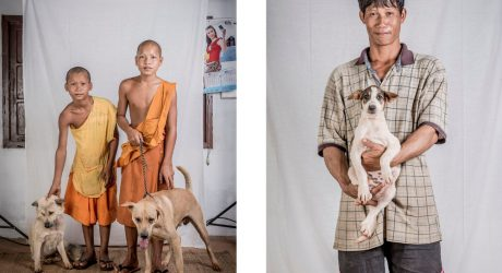 Pet Owners of Laos Photo Series by Ernest Goh