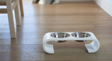 Modern Pet Feeders from LazyCat