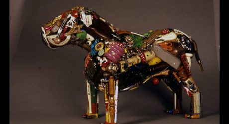 Junk Sculptures by Leo Sewell