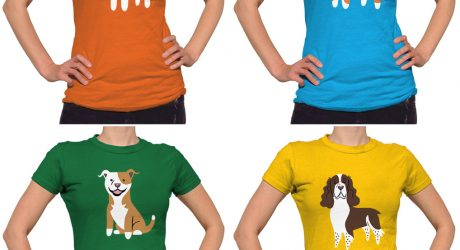 Doggie Tops, Tees, and Hoodies by Lili Chin