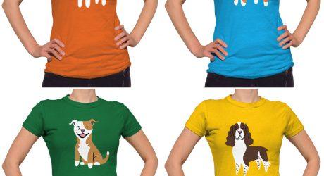 Doggie Tops, Tees, and Hoodies by Lili Chin