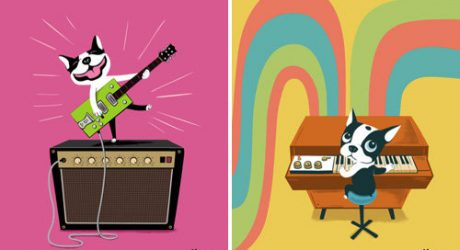 Boogie On Instruments Illustrations