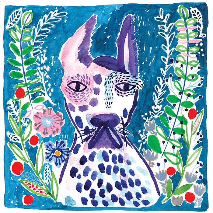 Dog Portraits and Illustration by Lisa Cinar