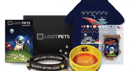 Loot Crate Pets: A Geeky Monthly Subscription Box for People and Pets