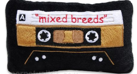 Mixed Breeds Cassette Tape Dog Toy