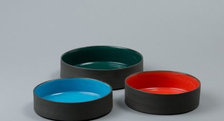 Modern Ceramic Dog Bowls from Ware of the Dog