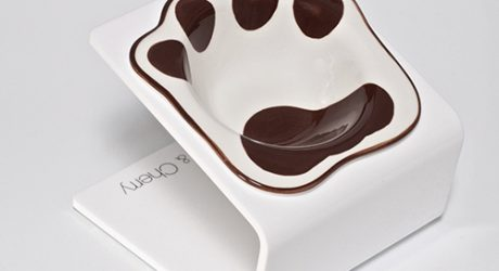 Modern Raised Pet Feeders by Choco & Cherry