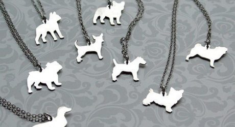 Mooshy Gooshies Custom Dog Silhouette Jewelry