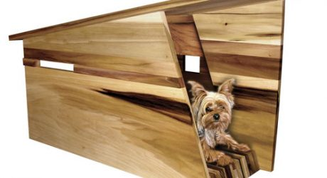 Mutt and Moddy Doggy Dog Houses by Jesse Doquilo