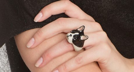 Nach Bijoux Porcelain Dog Jewelry